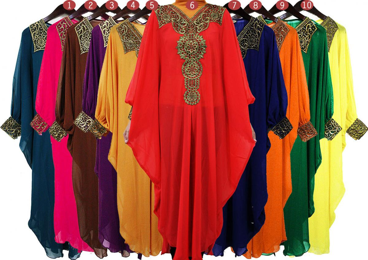 Wonderful Muslim Abaya Dress For Women Islamic Dresses Dubai Islamic Clothing